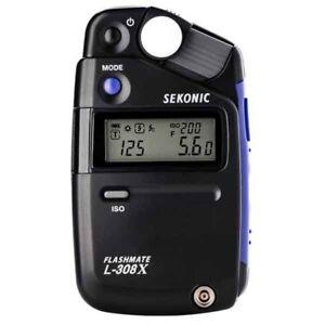 AU* Sekonic L-308X  Light Meter Flashmate