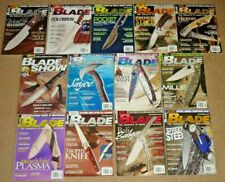 12 BLADE Magazines Knives Complete Year 2009 Vol. 36, #1-12 & Blade Show Program
