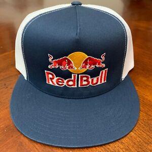 Red Bull Trucker Hat Navy And White