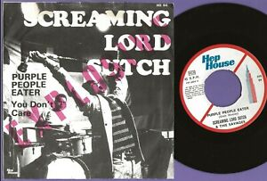 SCREAMING LORD SUTCH & SAVAGES You Don't Care RARE Sweden *only* 45 garage psych