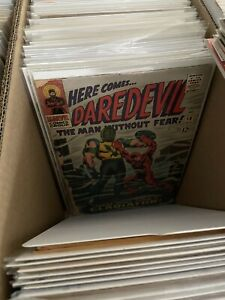 Lot of (15) DIFFERENT ALL Daredevil Comic Books