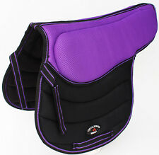 Horse English Treeless SADDLE Pad Contoured Close Contact Memory Foam 12221PR