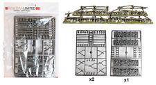 Renedra Plastic Split Rail Fencing with Low Stone Walls - 28mm ACW Black Powder