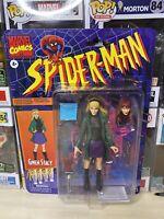 "2020 IN HAND Hasbro Marvel Legends Retro Spider-Man Coll 6"" Gwen Stacy Figure"