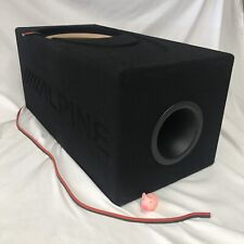 "Alpine Audio 10"" Type R & Type X Custom Aero Ported Box X-W10D4 R-W10D4 R-W10D2"