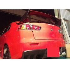 black + red FOR Mitsubishi EVO X LUTION X trunk SPOILER WING SPORT 08-15 Lancer