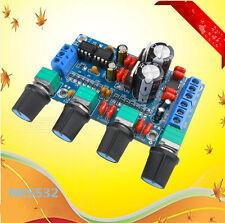 Preamplificador estéreo NE5532 panel de amplificación de amplificador de tono