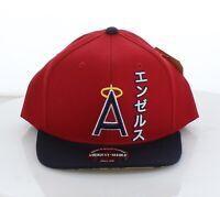 1C70 NEW Men's American Needle MLB Angels Red 80's Tokyo Pop Baseball Cap