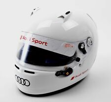 Audi Sport size XL Arai Kart racing helmet SK-6 SNELL 2015 white - ECE R 22.05