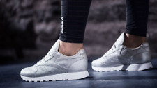 Reebok Classics Silver Athletic Shoes