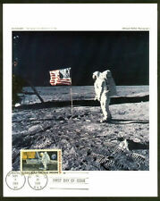 C76 1969 Official  NASA PHOTOGRAPH First Day  Moon Landing ALDRIN #1