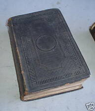 Leather 1853 Holy Bible by American Bible Society LOOK
