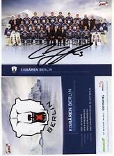 Eisbären Berlin- Orginalautogramm C.Locke-auf Mannschaftsfoto Saison 2012/2013