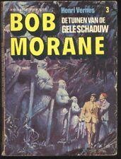 BOB MORANE Les jardins de l'Ombre JAUNE 60s Edition Néerlandais Henri VERNES