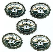 5 x  Conchos Conchas Conchos  Western  USA