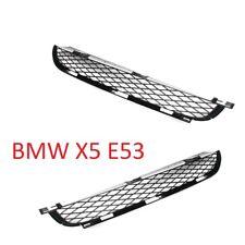 BMW X5 E53 Stoßstange Grill Gitter Lüftungsgitter Blende links + rechts -