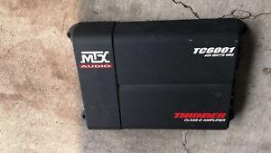 AMP Amplifier MTX THUNDER TC 6001 600 WATTS CLASS-D 1 Channel