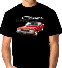 VALIANT CHRYSLER  CL CHARGER  QUALITY BLACK T-SHIRT  (9 CAR COLOURS) BIG FIT