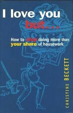I Love You but. . . How to Stop Doing More Than Your Share of Housework #BN4251