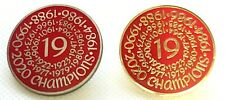 Liverpool Champions Of England Badge Round Silver Or Gold Gifts