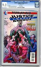 Justice League of America  #8   CGC   9.2  NM-  White pages 12/13  Variant cover