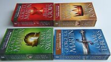 Set of First 4 Game of Thrones Paperback Books 2011 by George R. R.Martin