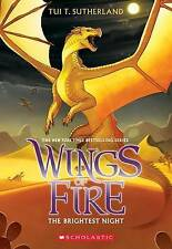 NEW Wings of Fire Book Five: The Brightest Night by Tui T. Sutherland