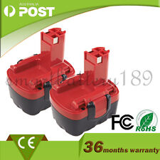 2 PCS 14.4V Drill Battery for Bosch PSR1440,PSR 14.4/N,PSB 14,2607335397,BAT040