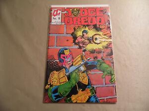 Judge Dredd #18 (Quality Comics 1988) Free Domestic Shipping