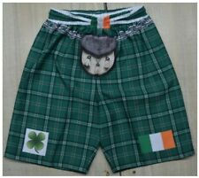 Tartan Kilt Shorts, Ireland, Northern Ireland & Wales