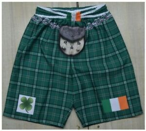 Tartan Kilt Shorts, Ireland, Northern Ireland and Wales