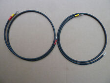 from regulator to battery wire 2x1m DC solar Cable 4mm 30AMP with 8.4mm lugs