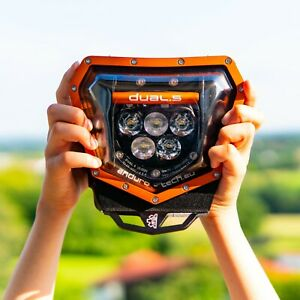 LED HEADLIGHT KTM 125-500cc EXC EXC-F/XC/XC-F 2/4-stroke 2014-2020 ORANGE