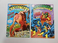 Challengers of the Unknown comic lot of 2! #'s 60 and 61! VG to FN range DC!