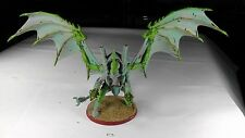 Flyrant Painted Hive Tyrant w Wings Twin Linked Devourers Tyranids 3