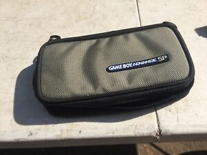 Gameboy Advance SP Gray Holder Case Carry Travel
