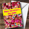 Funny Love Heart Sweets Romantic Personalised Valentine's Greetings Card