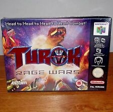 Turok Rage Wars N64 Nintendo 64 Boxed NEW & SEALED Game 1999
