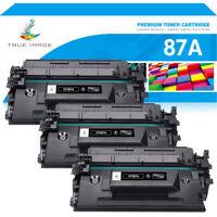 3PK CF287A 87A Toner Compatible for HP 87A LaserJet Pro M501dn M506dn MFP M527dn