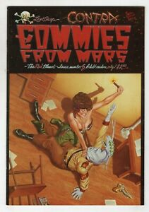 Commies From Mars The Red Planet 6 Last Gasp 1987 VF Contra