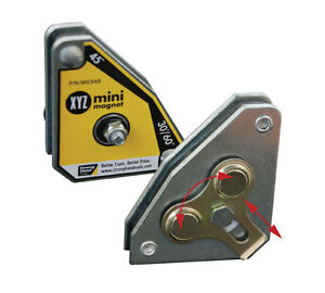 Strong Hand Tools, Multi Angle Mini Magnet Squares Twin Pack, XYZ MST348