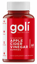 Goli Nutrition Apple Cider Vinegar Gummies -  60 Gummies - Vegan, Gluten Free