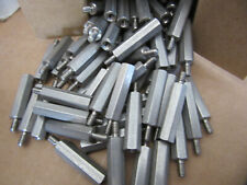 """(100) RAF 4542-632-SS Standoffs Stainless Male/Female 6/32 X 1"""" Long NEW!!!"""