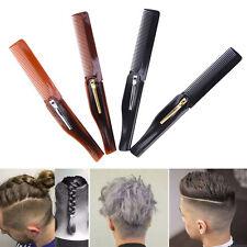 Foldable Hair Comb Pocket Clip Hair Moustache Beard Comb Hair Styling Tool IH