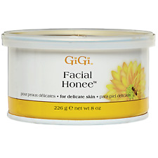 GIGI FACIAL HONEE WAX / HAIR REMOVER 8 oz For Delicate Skin Para Piel Delicada