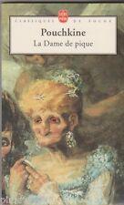 La Dame de pique - Pouchkine. avec commentaires . Goya en couverture . poche .