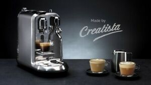 macchina da caffe espresso Creatista Plus Nespresso Metal Stainless Steel nuovo