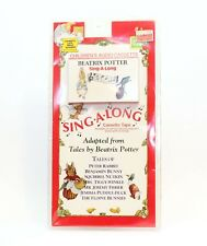 Beatrix Potter Sing-A-Long Cassette - Includes Fold-Out Lyric Sheet w 25 songs
