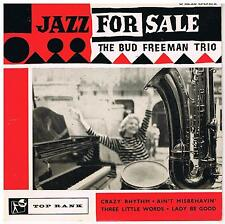 THE BUD FREEMAN TRIO Jazz for sale Top rank JKR 8021