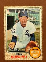 1968 Topps Jerry McNertney Card #14 NM-MINT - White Sox